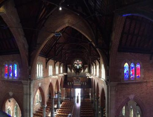 "Saint Georges Cathedral – Perth, WA (As appears in ""Be With Me"" Clerestory Windows booklet produced by St George's Cathedral)"