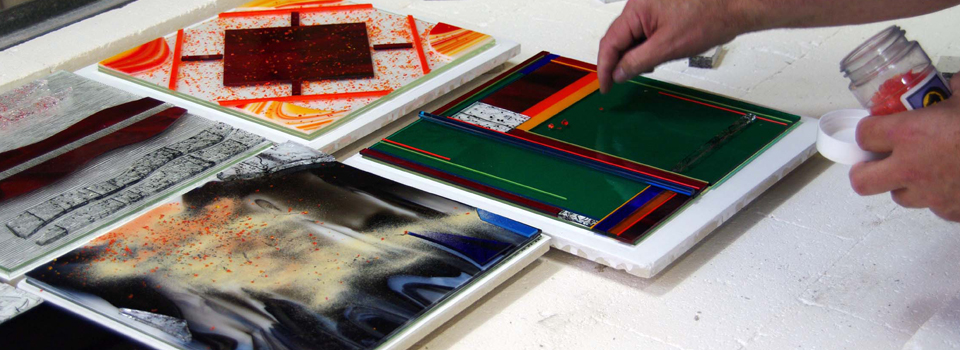 glass fusing and slumping class