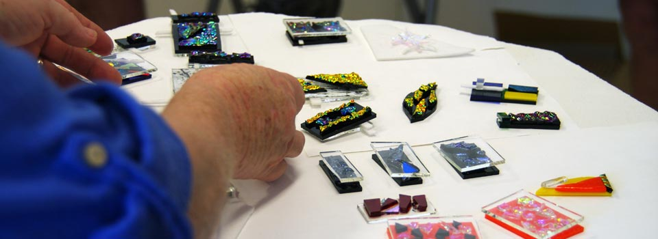 fused glass jewellery course