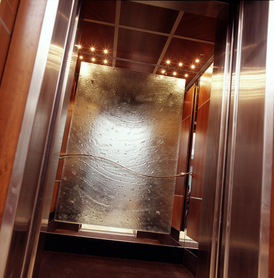 slumped elevator