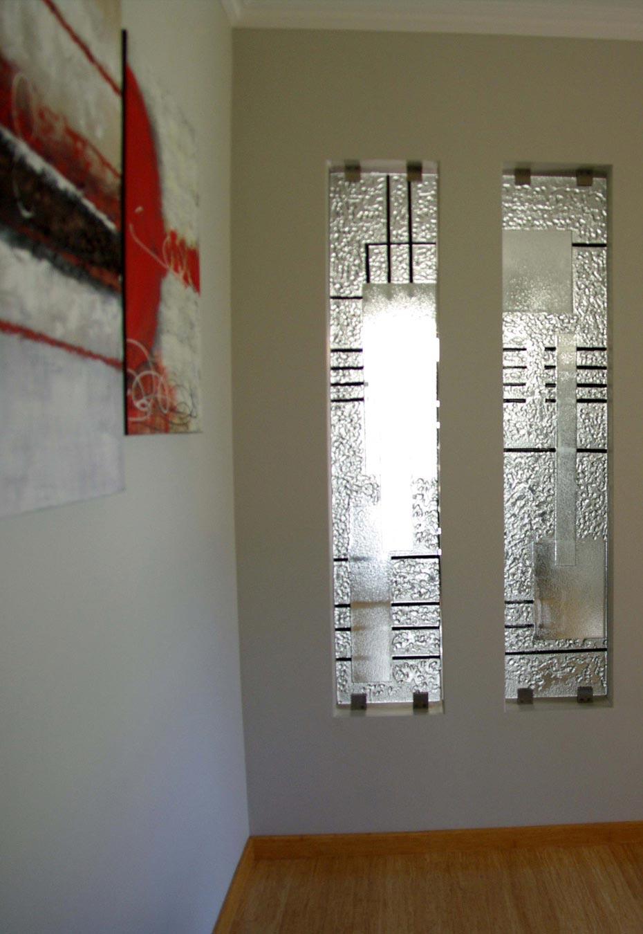 Slumped Glass Partition privacy