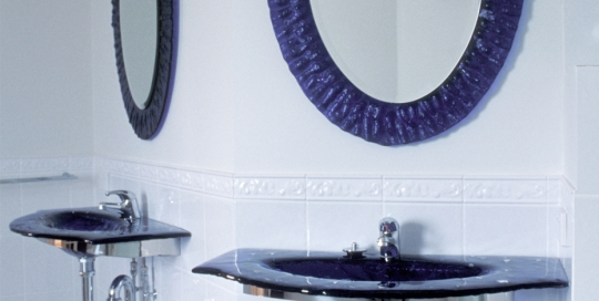 Bathroom Glass Basins & Mirrors