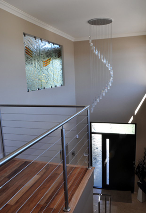 Slumped Glass screen privacy