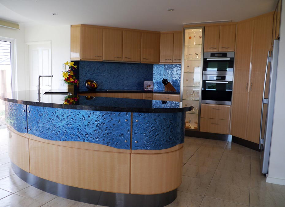 Slumped & curved Glass Panelling