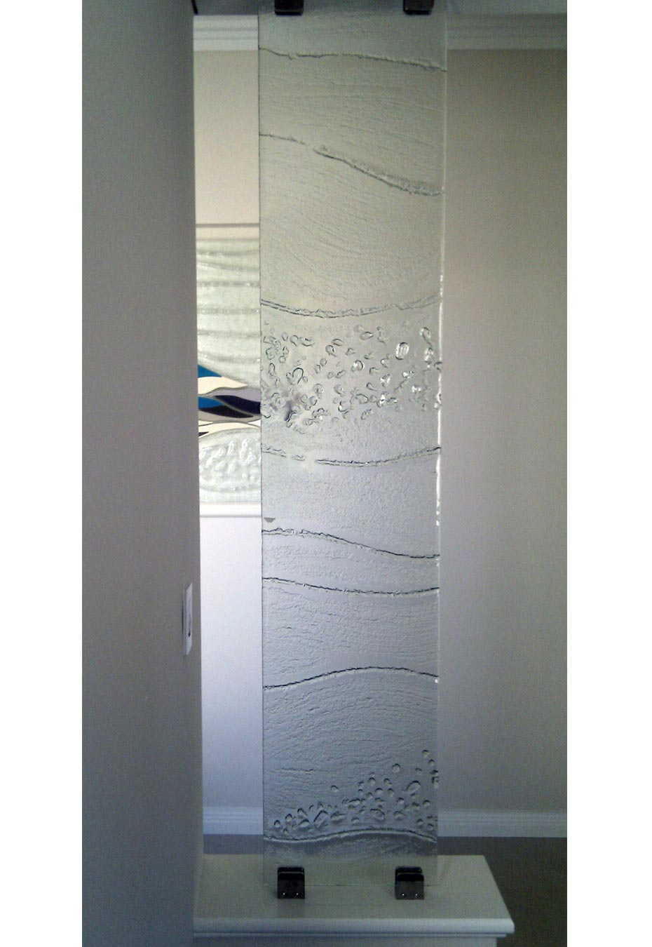 Slumped Glass screen