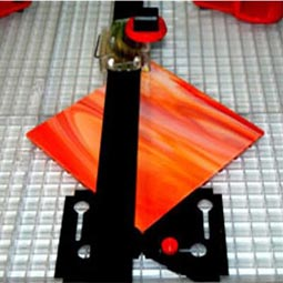 Glass Cutting System strips angles