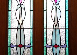 leadlight doors, sidelights