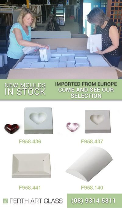 ceramic moulds, glass moulds
