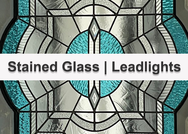 stained glass, leadlight