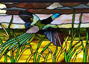 leadlight window, stained glass panel
