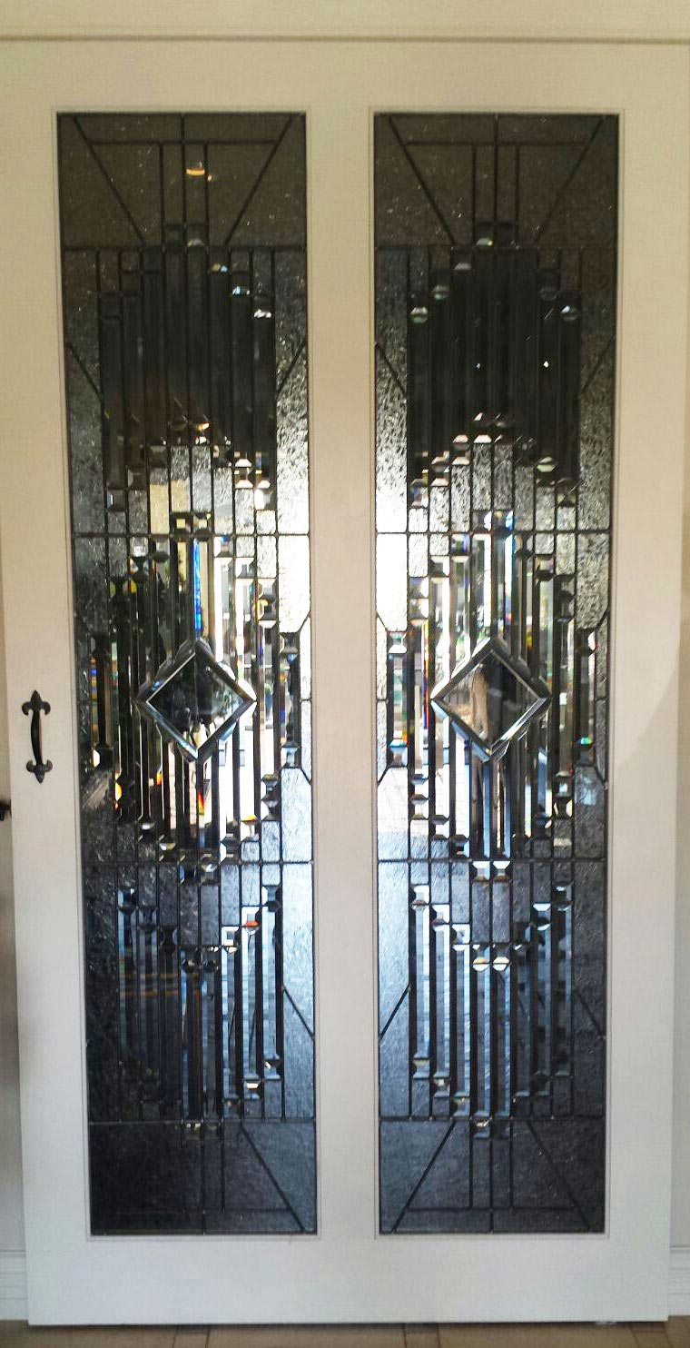 bevelled doors