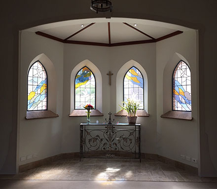 mausoleum chapel windows