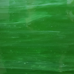 dark green, white wispy glass