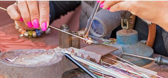 glass beadmaking course