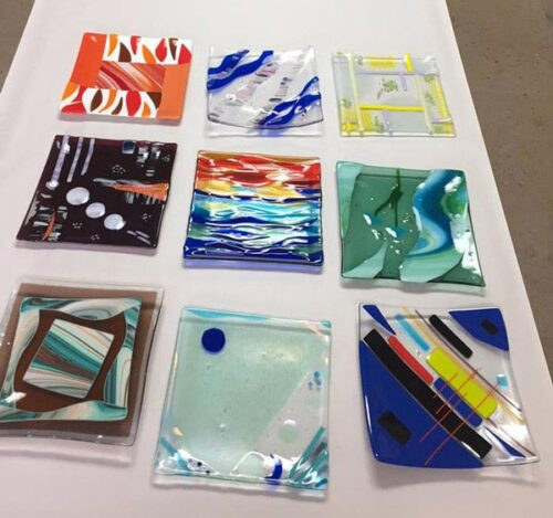 glass platter course images