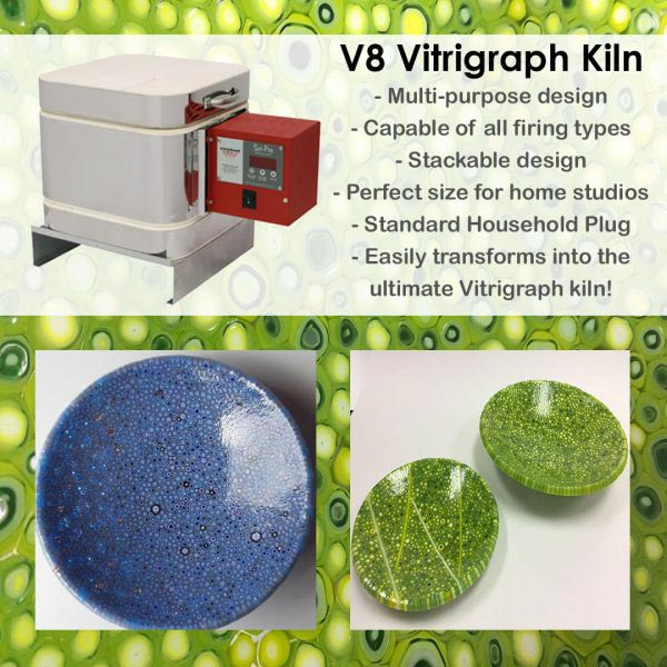 V8 Vitrigraph Kiln, Evenheat