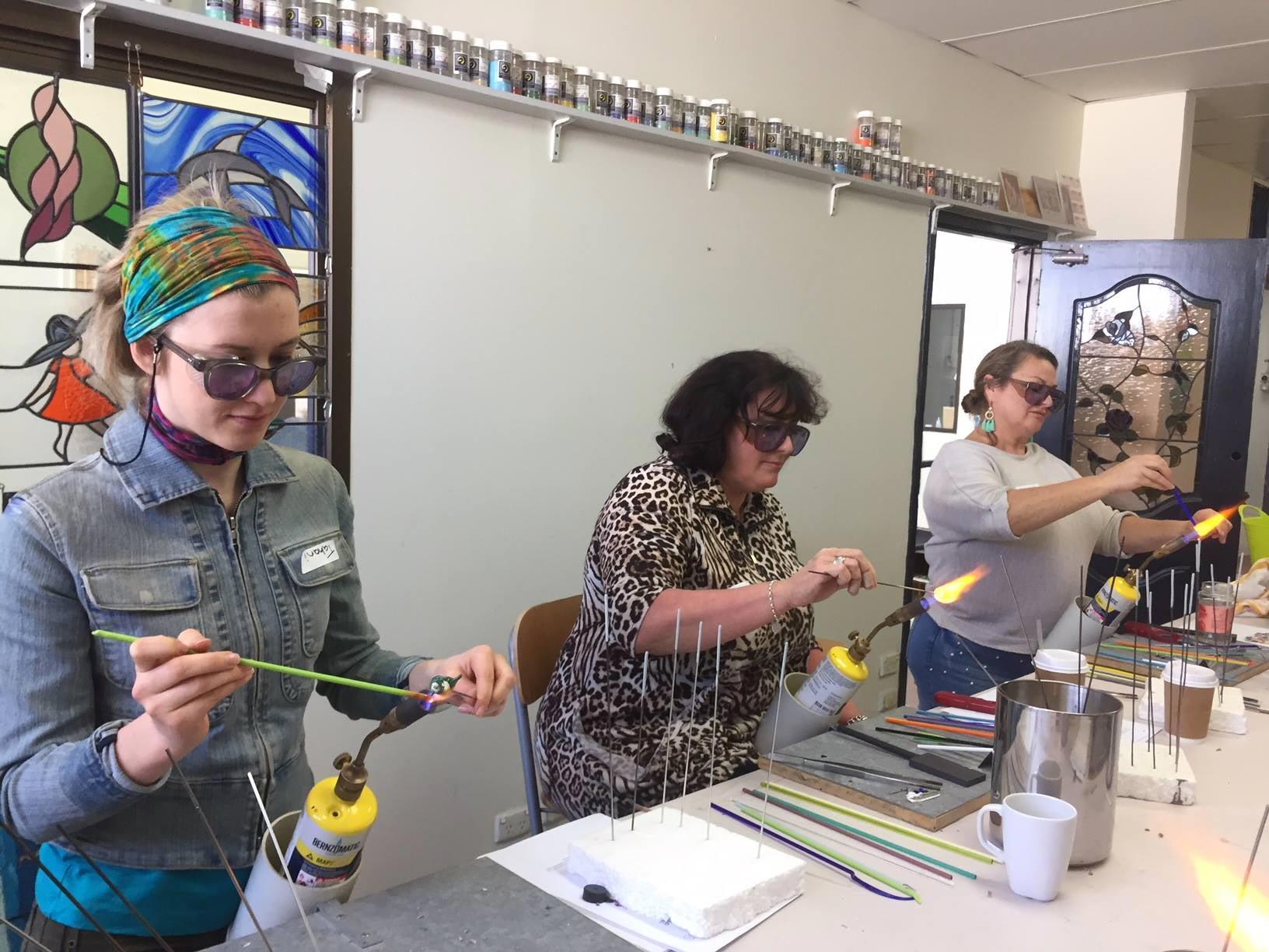 glass beadmaking class
