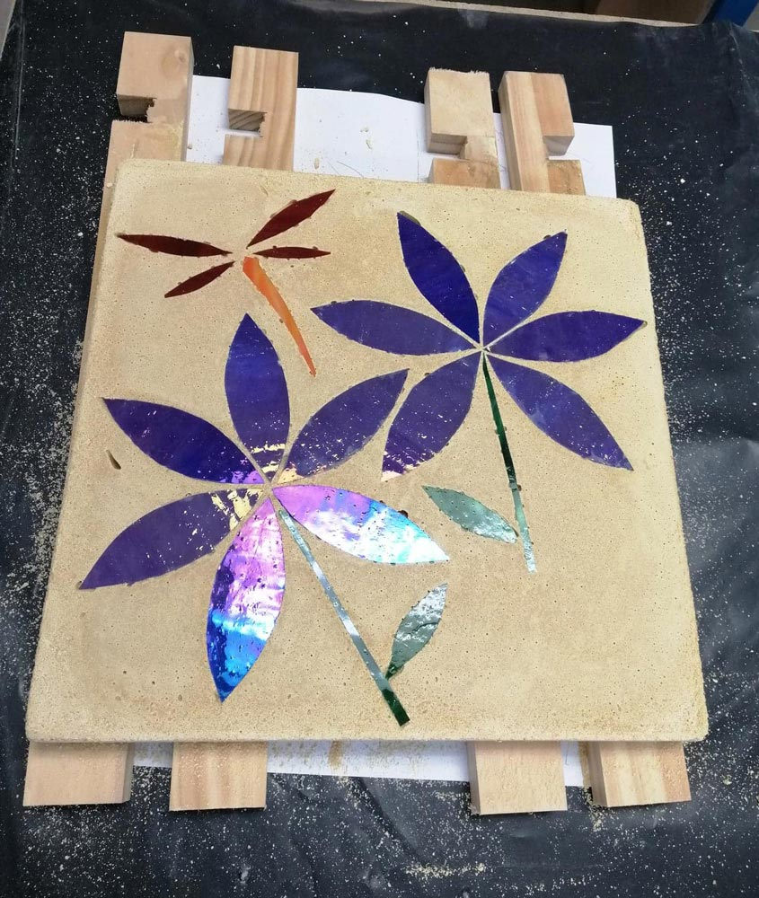 mosaic stepping stones course