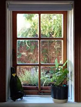 DIY leadlight window