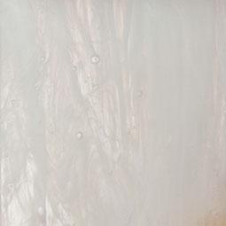 White dawn streaky art glass