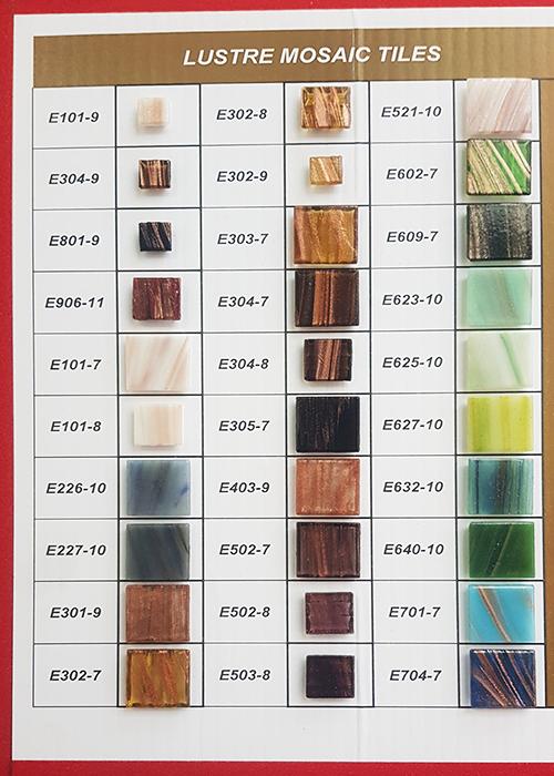 Lustre Mosaic Tiles