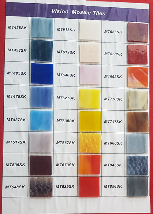 Vision Art Glass Mosaic Tiles
