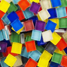 crystal mixed mosaic tiles