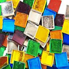 gold mosaic tiles mix