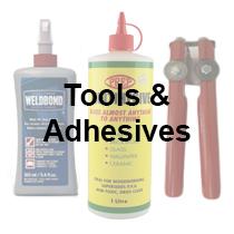 mosaic tools and adhesives