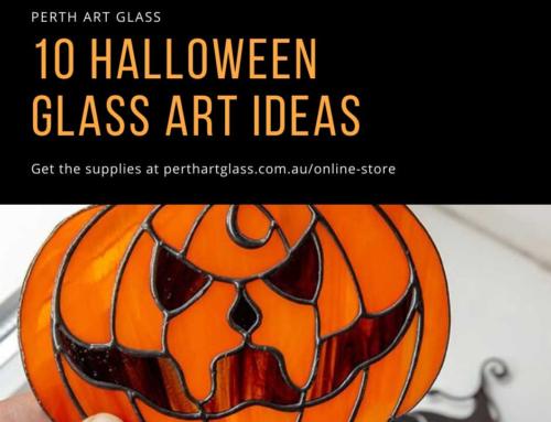 10 Halloween Glass Art Ideas!