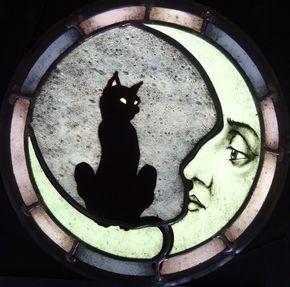 halloween ideas glass art