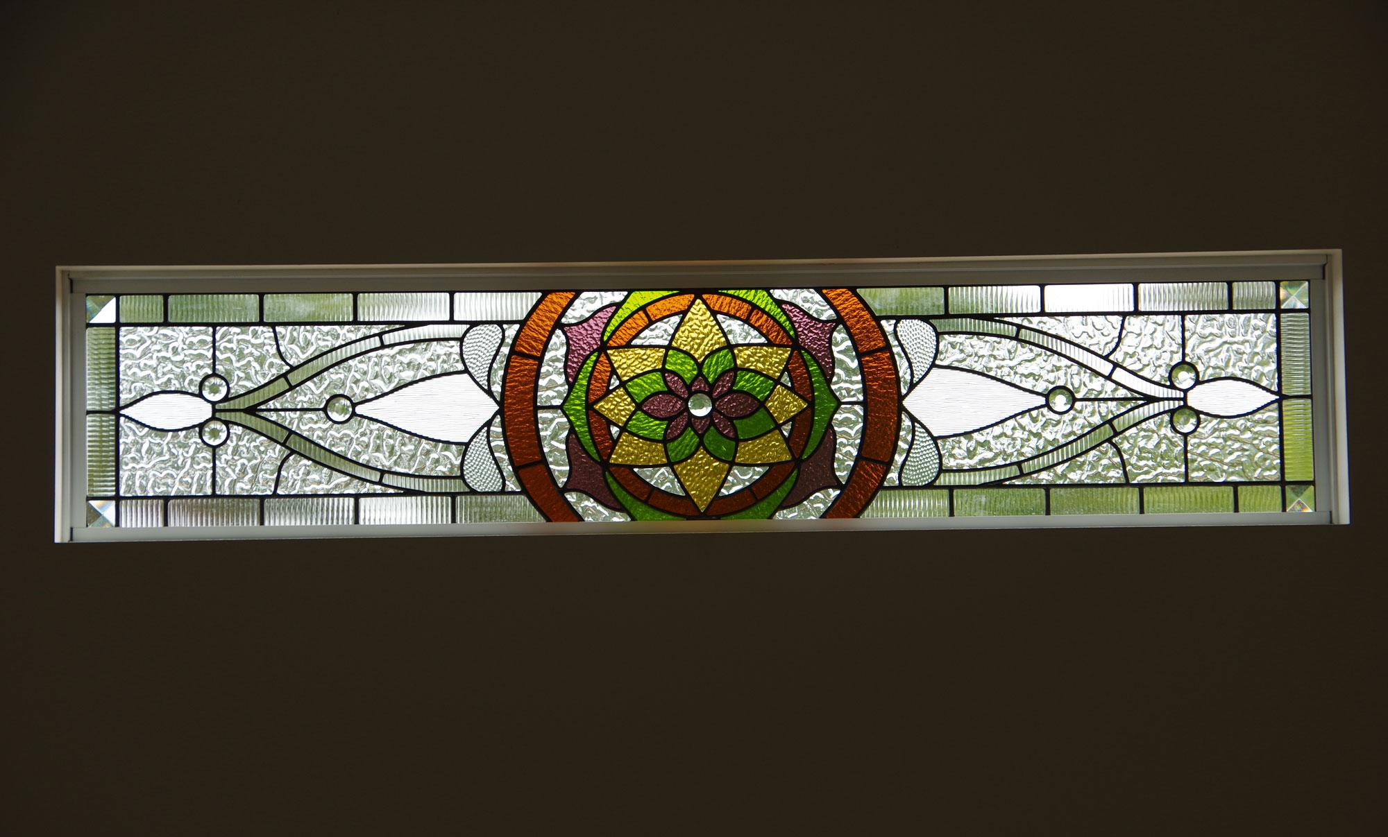mandala stained glass
