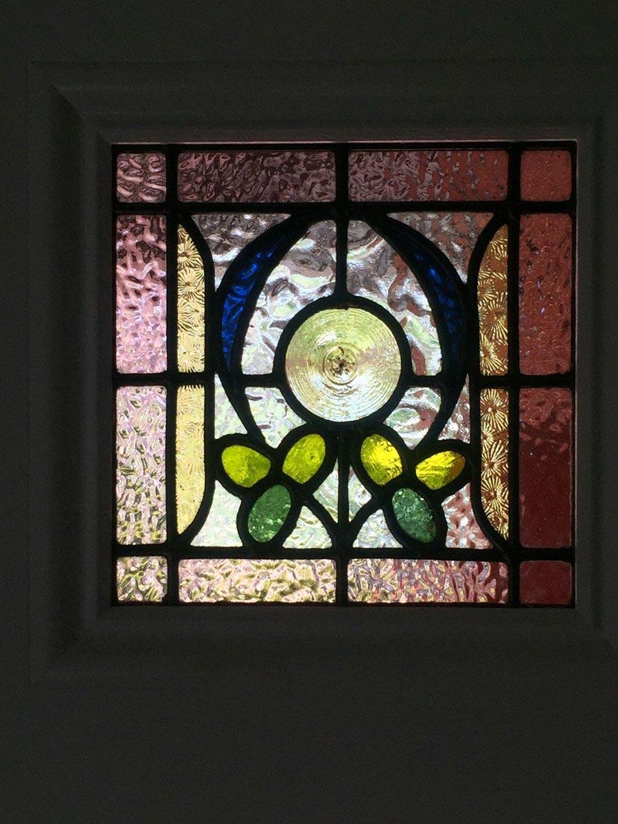 leadlight door panel