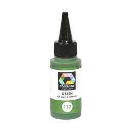 color line green paint